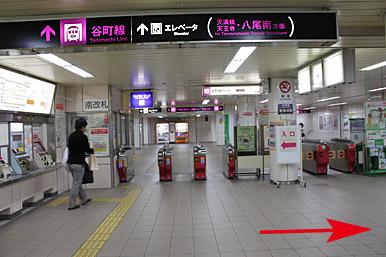 地下鉄東梅田駅からのアクセス ...